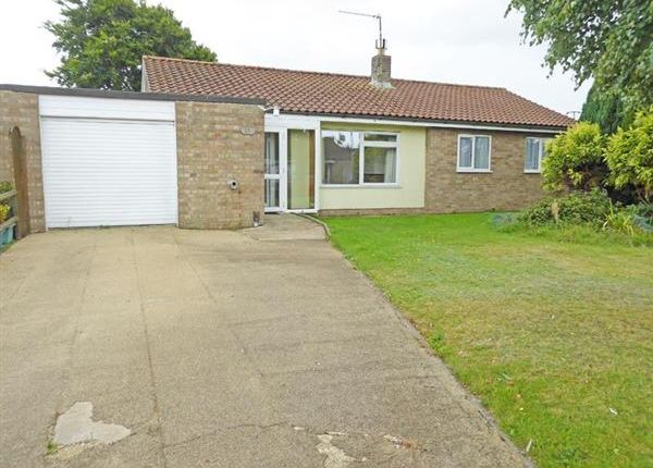 Thumbnail Detached bungalow for sale in Paddock Way, Troston, Bury St. Edmunds