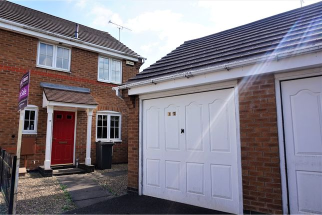 Thumbnail Semi-detached house for sale in Derrys Hollow, Coalville