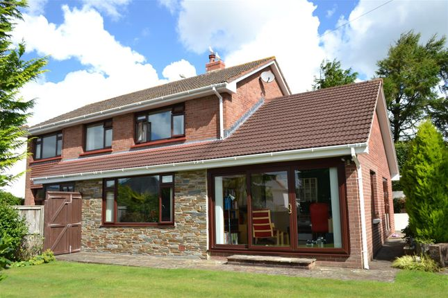 Thumbnail Detached house for sale in Old Bideford Road, Sticklepath, Barnstaple