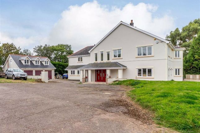 Thumbnail Detached house for sale in Pencoed Lane, Llanmartin. Newport, Gwent
