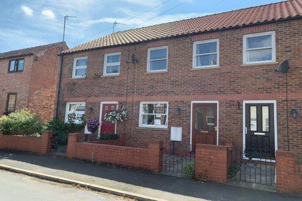 Thumbnail Terraced house to rent in Sutton Street, Malton