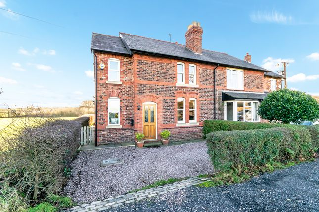 Thumbnail Semi-detached house for sale in Hall Lane, Grappenhall, Warrington