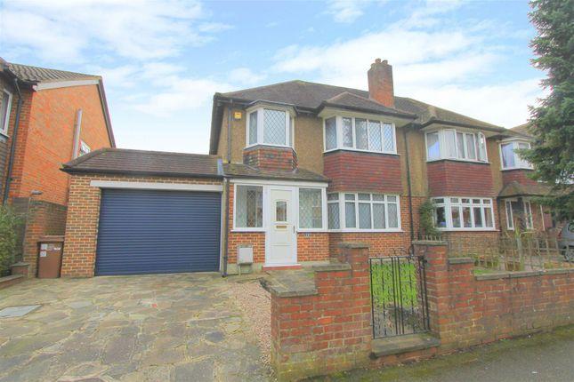 Thumbnail Semi-detached house for sale in Camborne Road, Sutton
