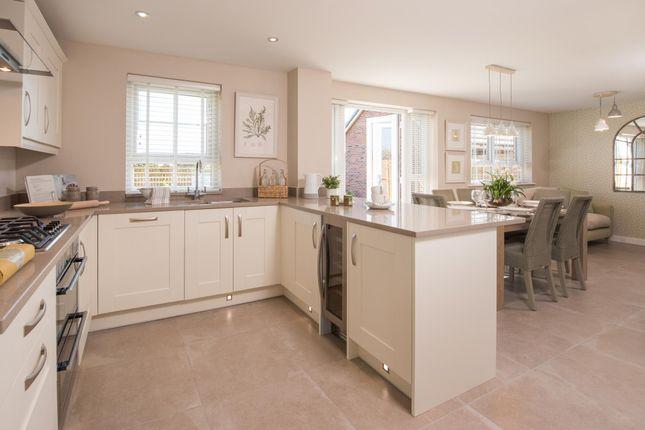 "Thumbnail Detached house for sale in ""Radleigh"" at Bruntcliffe Road, Morley, Leeds"