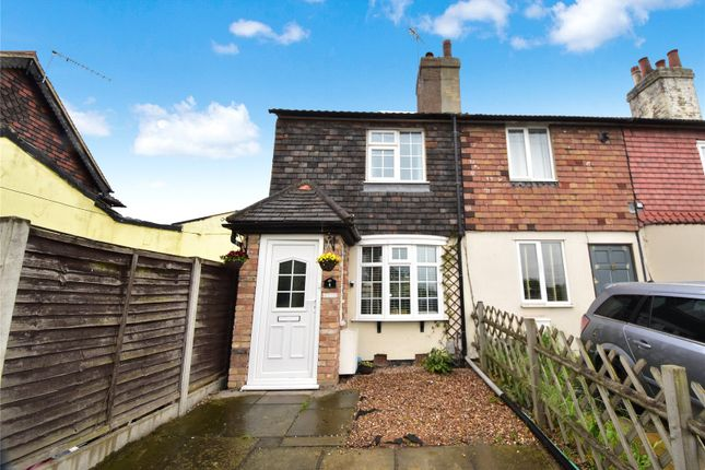 Thumbnail End terrace house for sale in Claremont Cottages, Hawley Road, Dartford, Kent