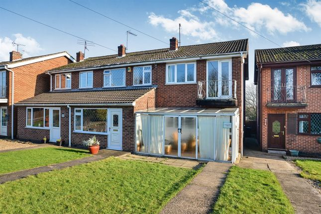 Thumbnail Semi-detached house for sale in Cotmanhay Road, Ilkeston