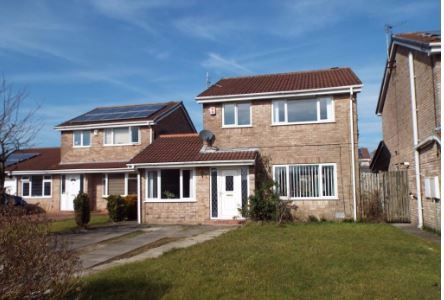 Thumbnail Detached house for sale in Dukes Meadow, Ingol, Preston