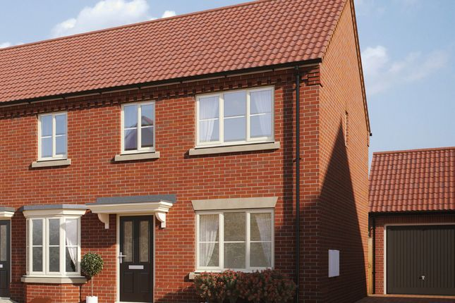 Thumbnail Semi-detached house for sale in Buzzard Way, Holt