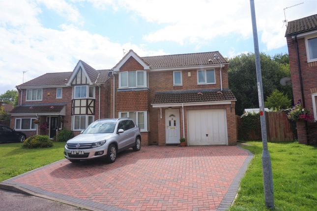 Thumbnail Detached house for sale in The Meadows, Marshfield