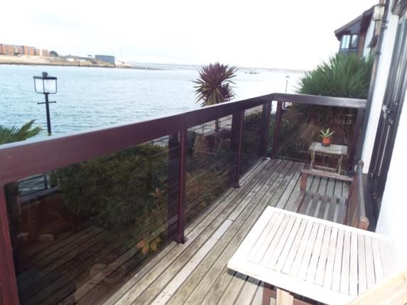 Balcony of Channel Way, Ocean Village, Southampton SO14