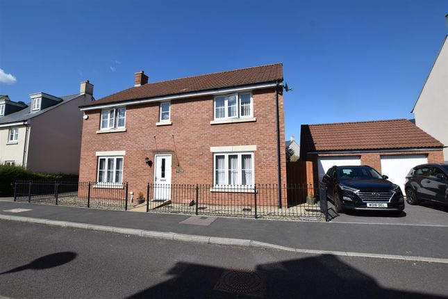 Thumbnail Detached house for sale in Redpoll Drive, Portbury, Bristol