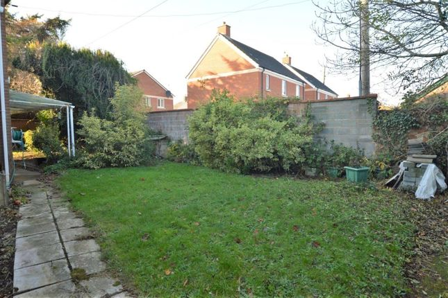 Garden of Shortlands Lane, Cullompton, Devon EX15