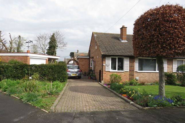 Thumbnail Semi-detached bungalow for sale in Metfield Close, Tamworth