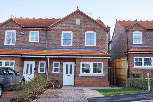 Thumbnail Semi-detached house for sale in Baulk Close, Harpenden