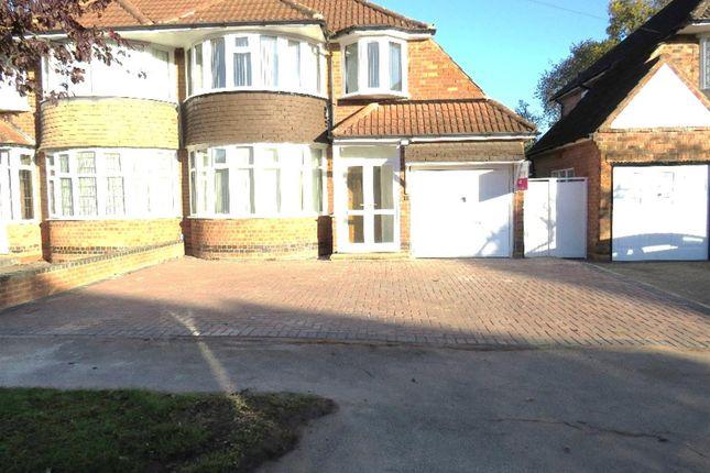 Thumbnail Semi-detached house for sale in Whateley Crescent, Castle Bromwich, Birmingham