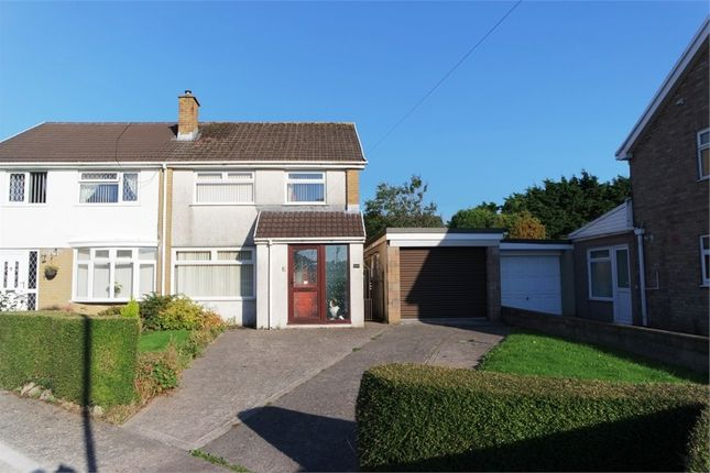 Thumbnail Semi-detached house for sale in Tyle Glas, Broadlands, North Cornelly, Bridgend, Mid Glamorgan