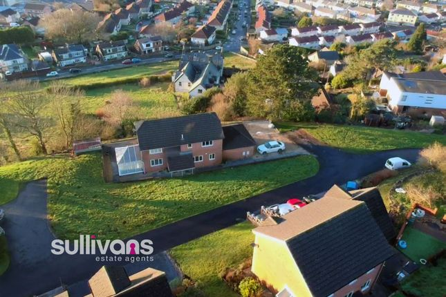 Thumbnail Detached house for sale in Jays Field, Cimla, Neath