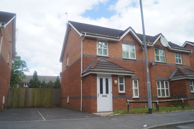 Thumbnail Semi-detached house for sale in Melland Road, Manchester