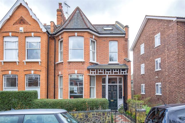 Thumbnail End terrace house for sale in Carysfort Road, Crouch End, London
