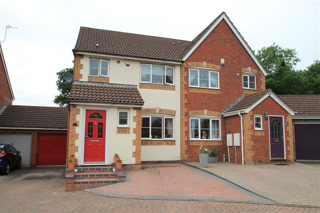 Thumbnail Semi-detached house for sale in Cleobury Close, Redditch