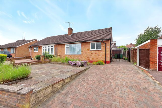 Thumbnail Semi-detached bungalow for sale in Garston Crescent, Watford
