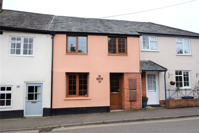 Thumbnail Terraced house to rent in St. Andrew Street, Tiverton, Devon