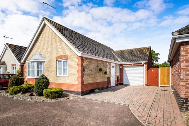 Thumbnail Detached bungalow for sale in Richard Crampton Road, Beccles