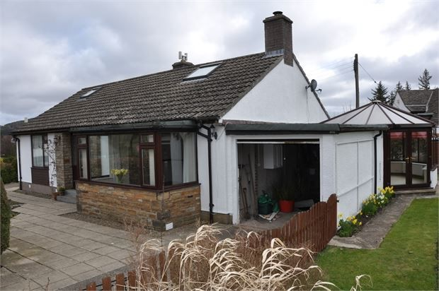 Thumbnail Detached bungalow for sale in Scarberry, Middle Park, Alston