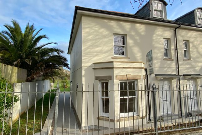 Thumbnail End terrace house for sale in Trewithen Road, Penzance