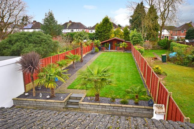 Garden View of Salisbury Avenue, Styvechale, Coventry CV3
