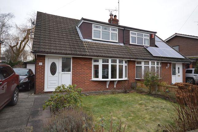 Thumbnail Semi-detached house to rent in Bracken Close, Rode Heath