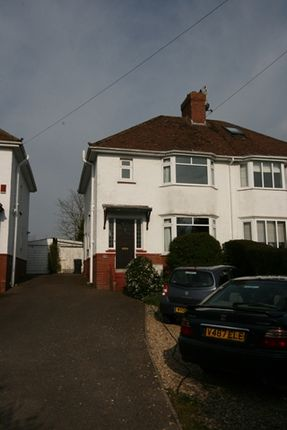 Thumbnail Semi-detached house to rent in Newcourt Road, Topsham, Exeter