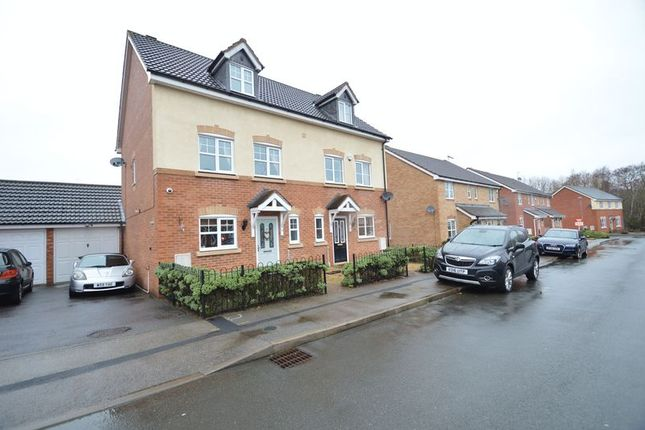 Thumbnail Semi-detached house for sale in Wheatcroft Close, Brockhill, Redditch