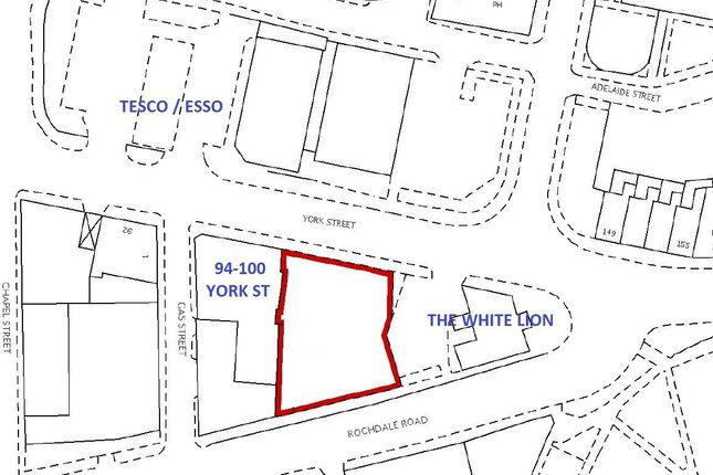 Thumbnail Land to rent in Land, 100 York Street, Heywood