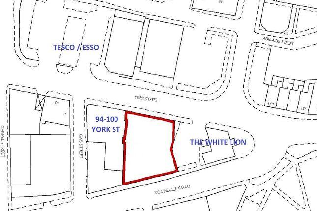 Thumbnail Land to rent in Land, 100 York Street, Heywood