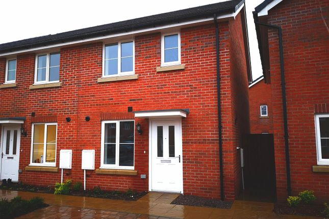 Thumbnail Semi-detached house to rent in Dehavilland Way, Jubilee Park, Rogerstone