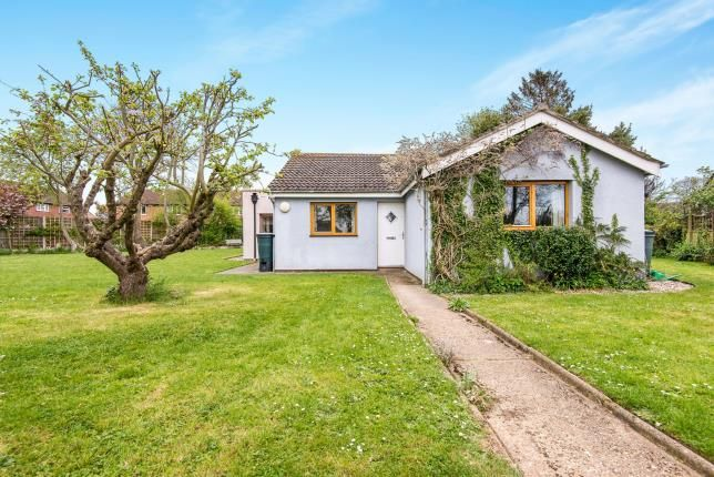 Thumbnail Bungalow for sale in Wymondham, Norfolk, N/A