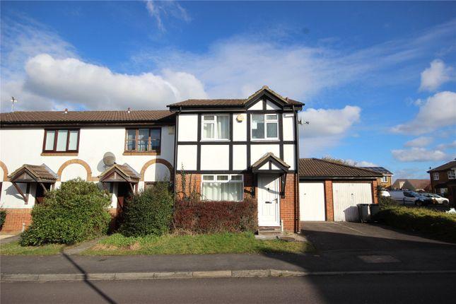 Thumbnail End terrace house to rent in Railton Jones Close, Stoke Gifford, Bristol