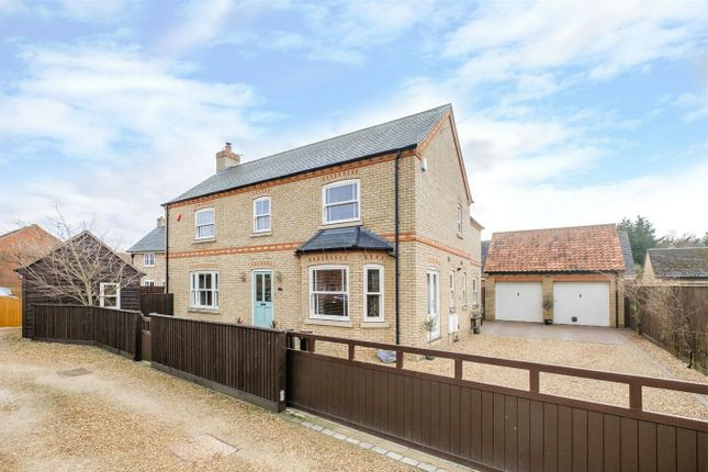 Thumbnail Detached house for sale in The Retreat, Sawtry, Huntingdon