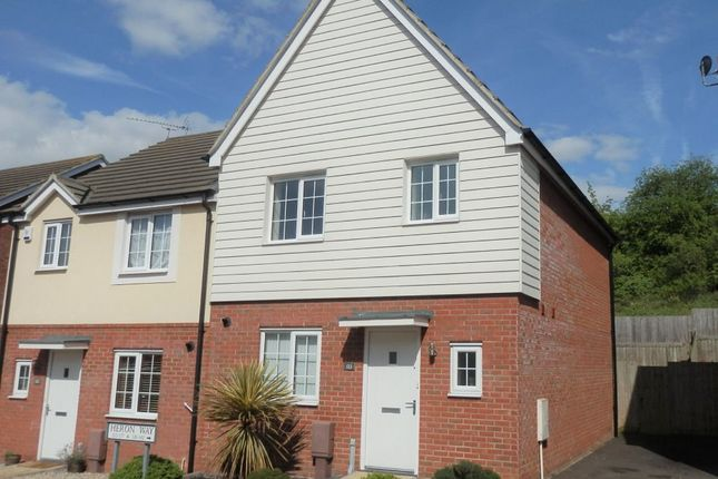 Thumbnail Semi-detached house for sale in Heron Way, Dovercourt