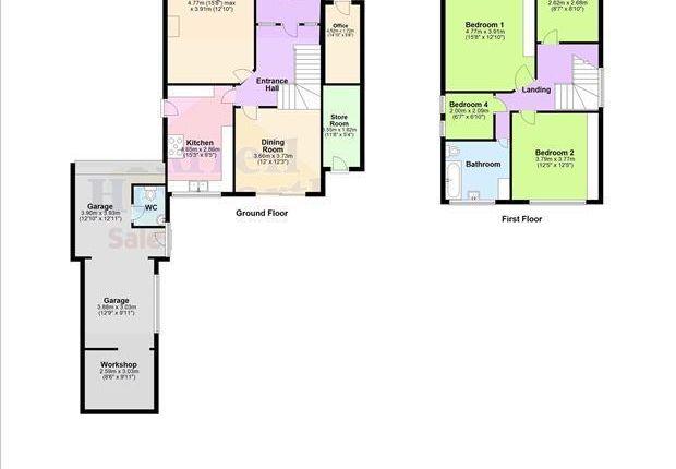 Floor Plan of Carr Gate, Thornton-Cleveleys FY5