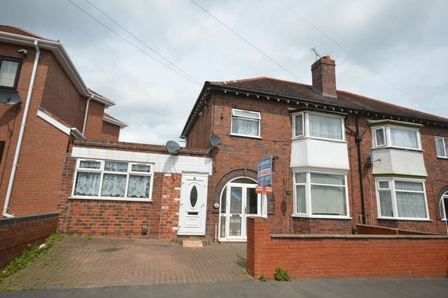 Thumbnail Semi-detached house for sale in Walter Road, Smethwick