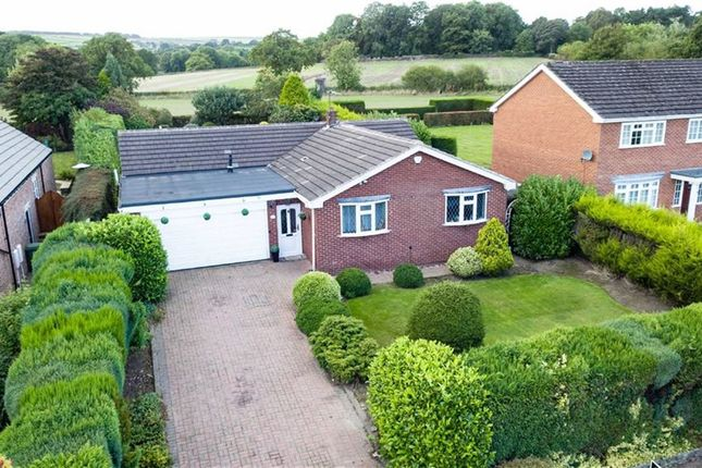 Thumbnail Detached bungalow for sale in Brookside Bar, Chesterfield, Derbyshire