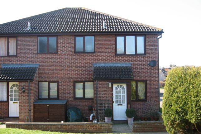 Thumbnail Terraced house to rent in Paget Close, Needham Market