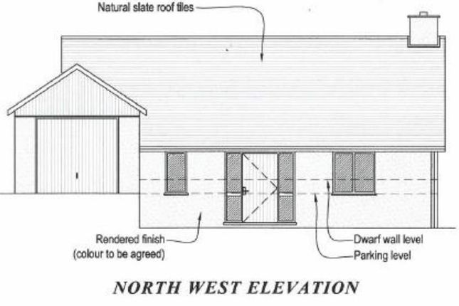 Thumbnail Land for sale in Opposite 1 Milford Cottage, Milford Road, Newtown