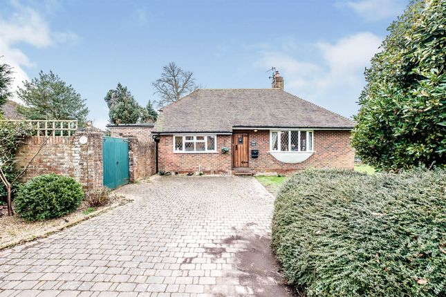 Thumbnail Detached bungalow for sale in Nepcote Lane, Findon, Worthing