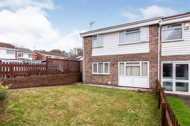 Thumbnail End terrace house for sale in Waun Fach, Pentwyn, Cardiff