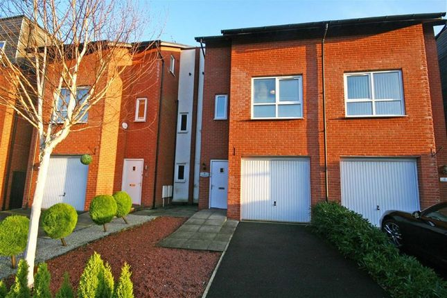 Thumbnail Town house for sale in Robert Harrison Avenue, West Didsbury, Manchester, Greater Manchester