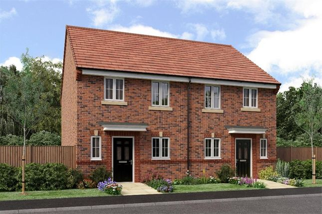 "Thumbnail Semi-detached house for sale in ""The Hawthorne"" at Netherton Colliery, Bedlington"