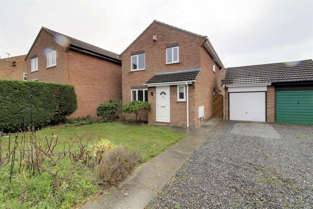 Thumbnail Detached house to rent in Swift Close, Deeping St. James, Peterborough